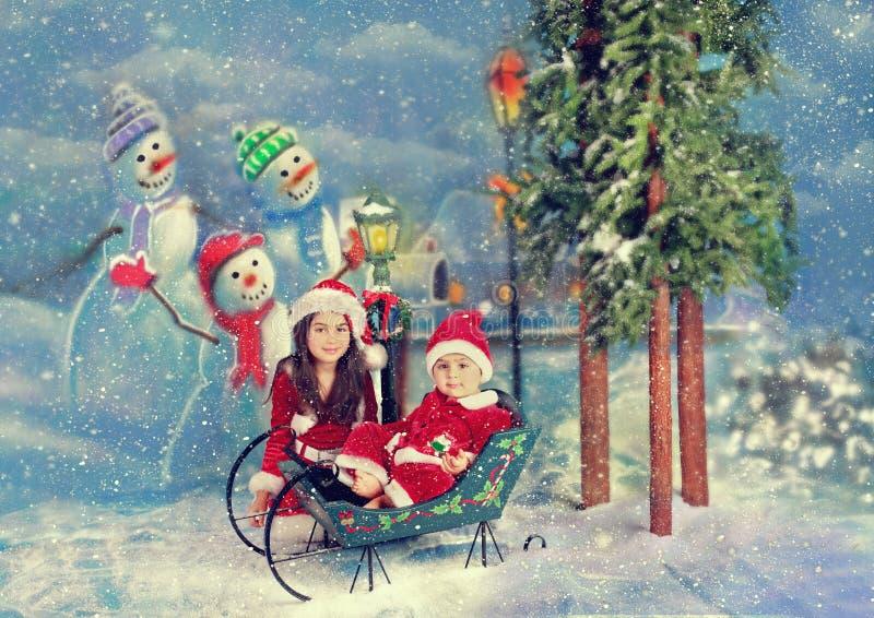 Natal Santa imagens de stock royalty free
