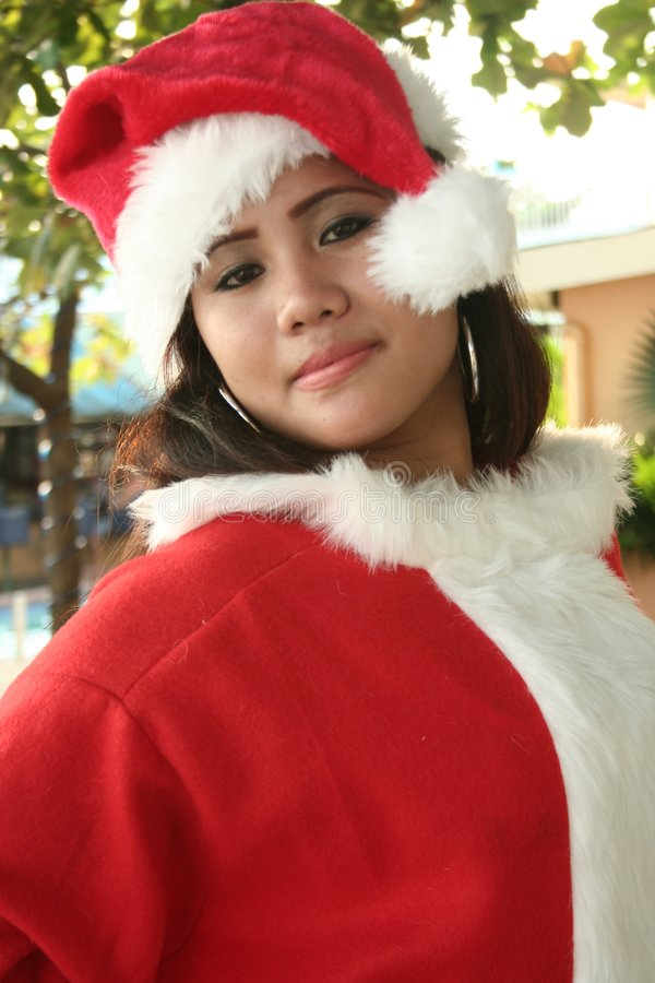 Natal Santa foto de stock