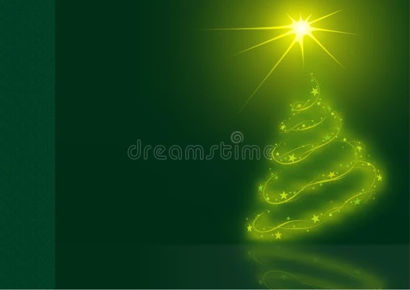 Natal verde ilustração royalty free
