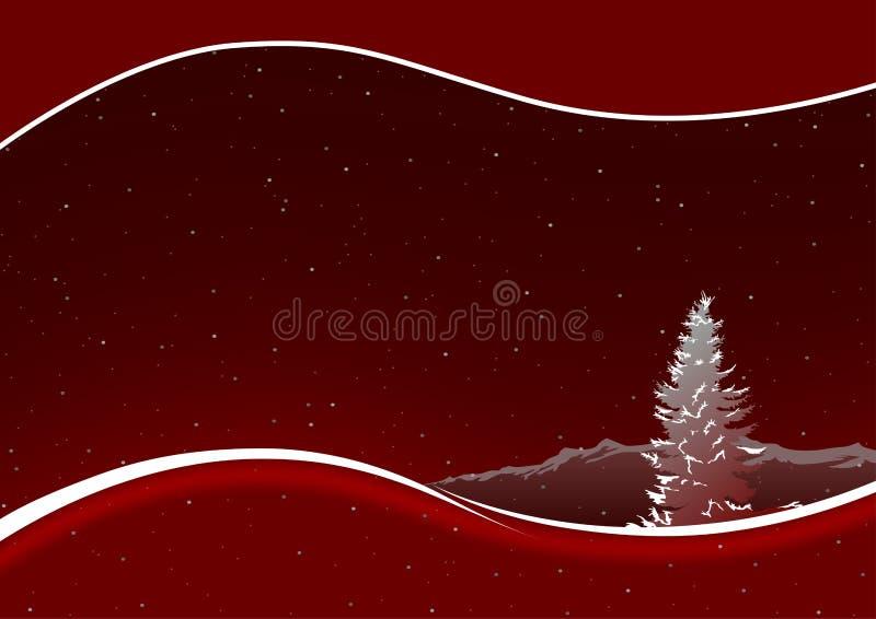 Natal vermelho ilustração do vetor