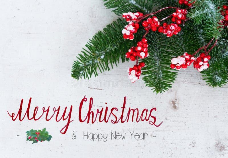 Natal vermelho e branco fotografia de stock