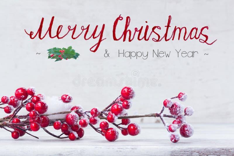 Natal vermelho e branco foto de stock royalty free