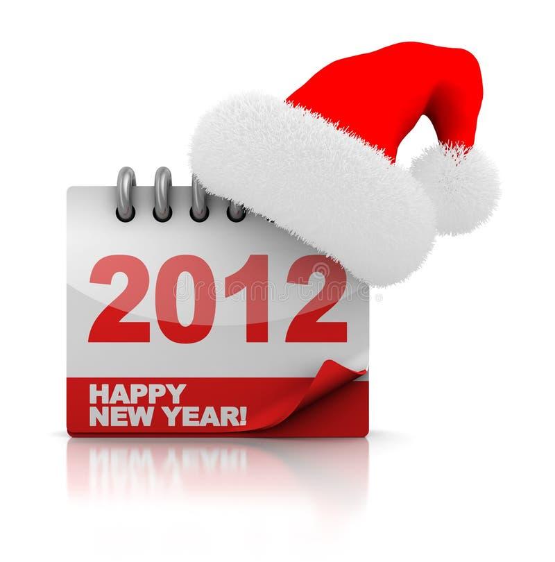 Natale 2012 illustrazione di stock