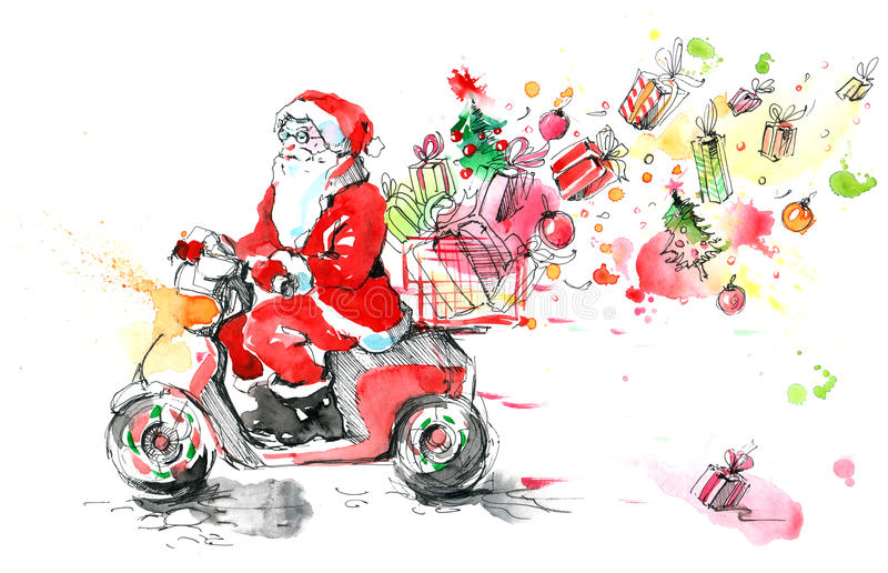 Natale; illustrazione di stock