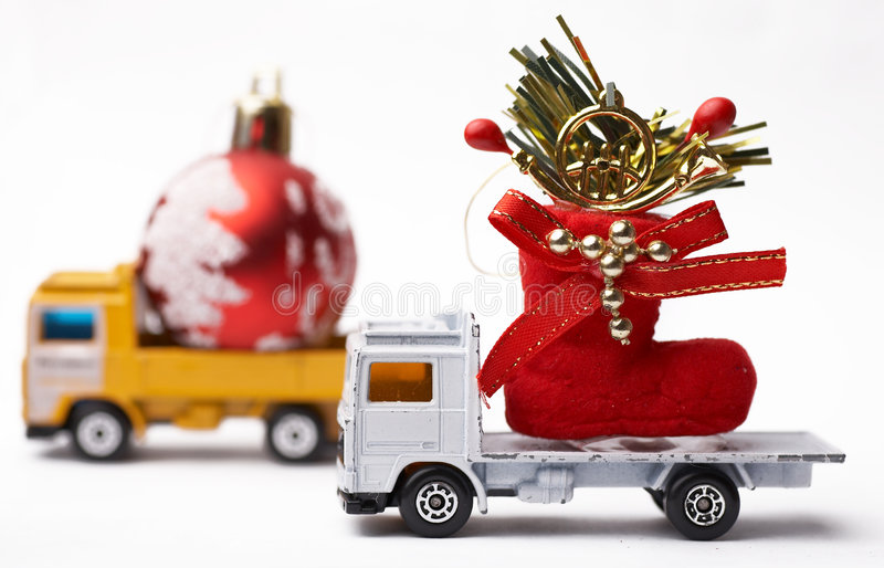 Download Natale immagine stock. Immagine di trasporti, celebrazione - 7324145