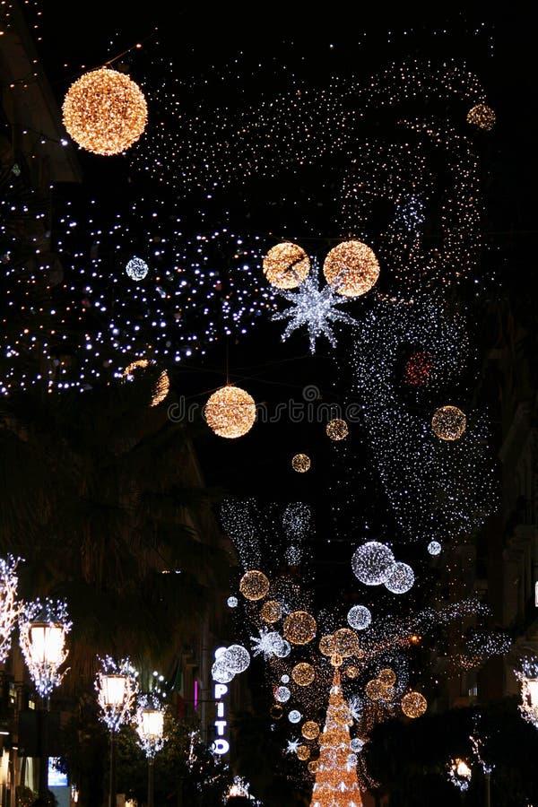 Natale al salerno fotografia stock libera da diritti