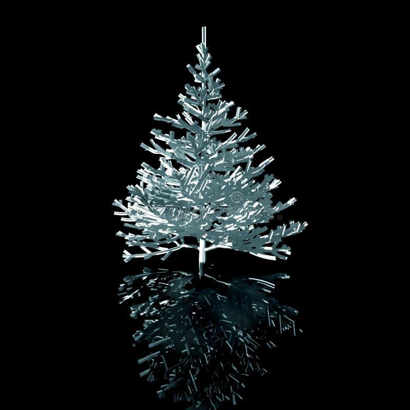 Natale-albero illustrazione di stock