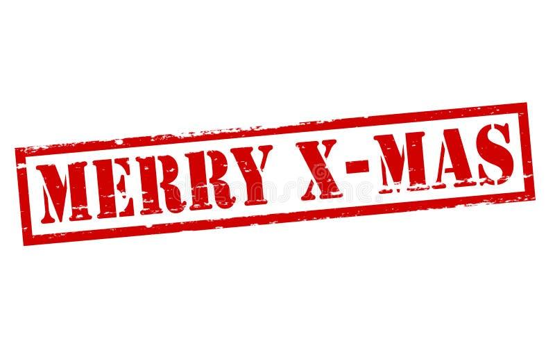 Natale allegro illustrazione di stock