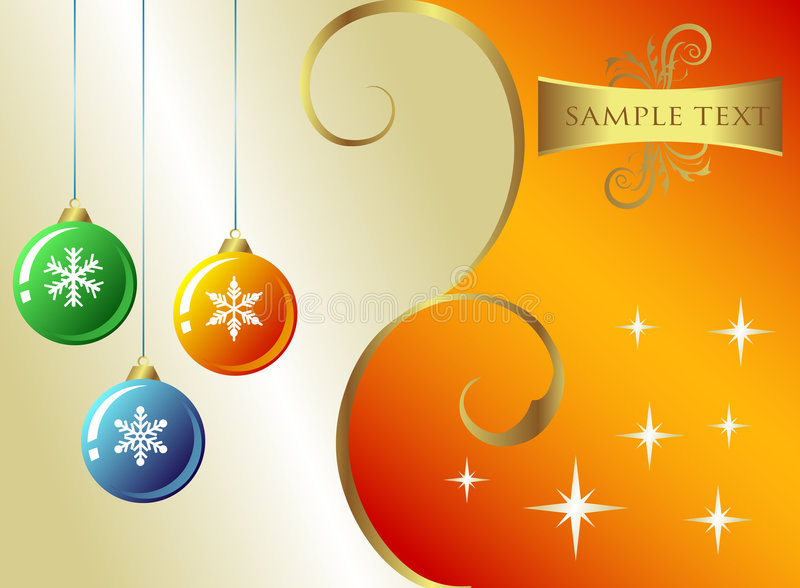 Natale Backround royalty illustrazione gratis