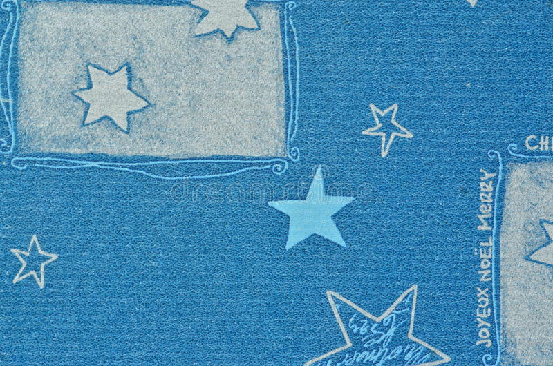 Natale blu motore sul cartone di carta con effetto confuso fotografie stock libere da diritti