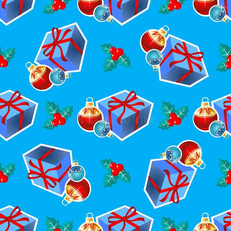Natale card-11 illustrazione vettoriale