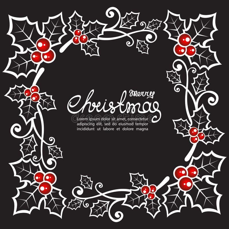 Natale card-03 illustrazione vettoriale