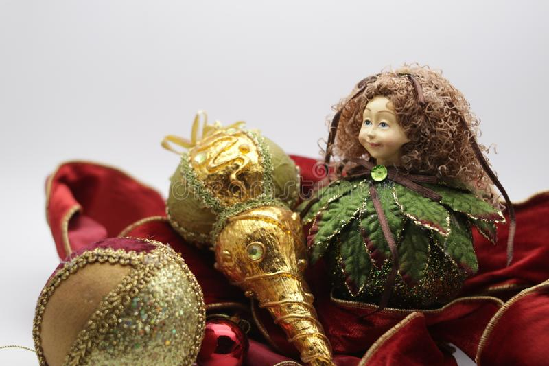 Natale celebrazione e decorazione di Natale fotografie stock