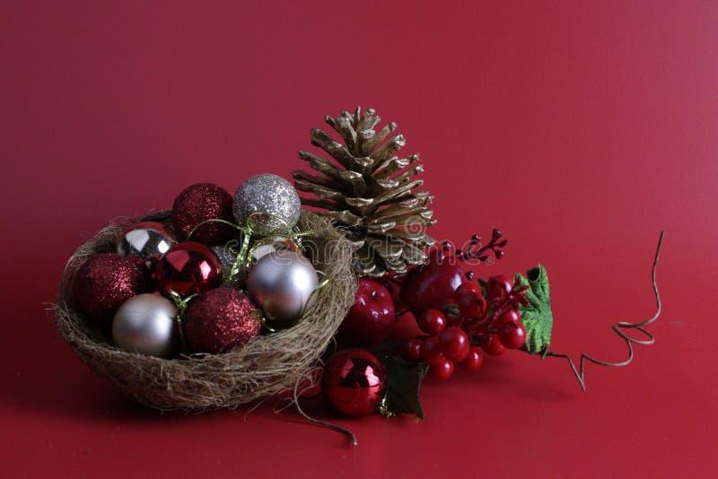 Natale celebrazione e decorazione di Natale fotografie stock libere da diritti
