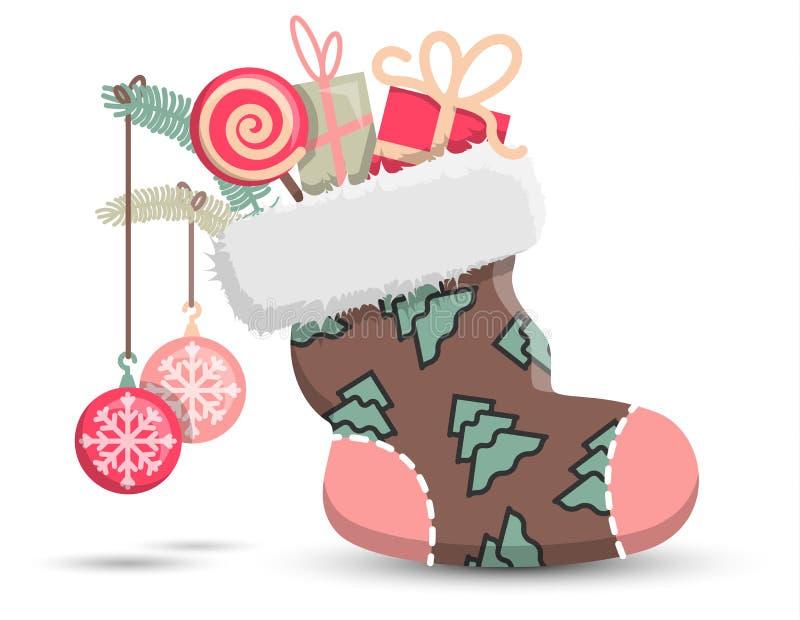 Natale che immagazzina simbolo sveglio dell'icona di vettore royalty illustrazione gratis