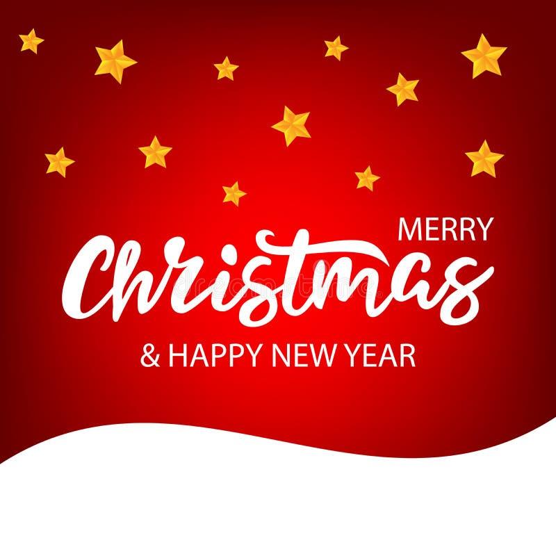 Natale che segna sul fondo luminoso immagini stock