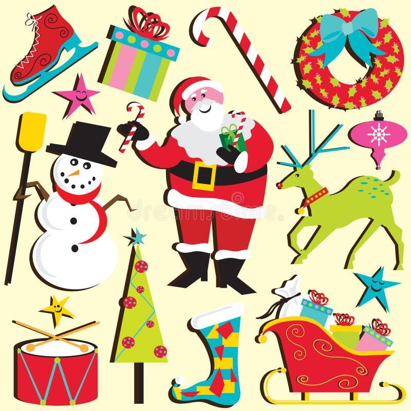 Natale Clipart illustrazione di stock