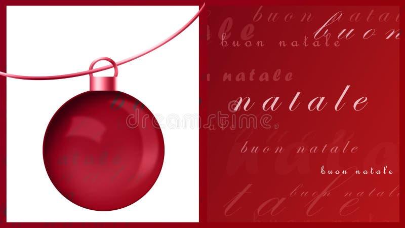 Natale de Buon illustration libre de droits
