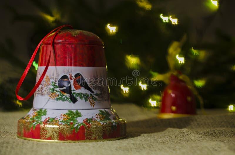 Natale, decorazione, anno, nuovo, festa, decorazione, decorata fotografia stock
