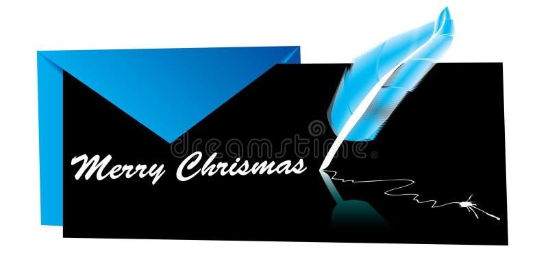 Natale della busta/biglietto di S. Valentino del regalo/ illustrazione vettoriale