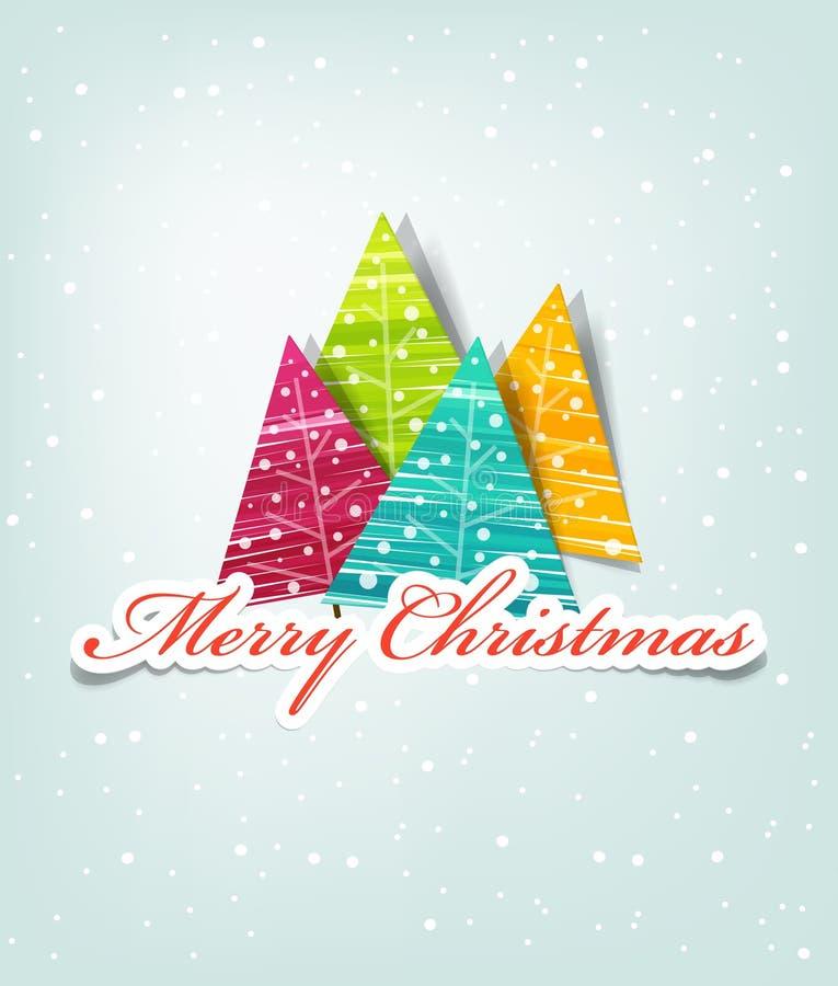 Natale della scheda royalty illustrazione gratis