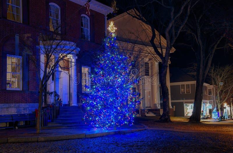 Natale di Nantucket immagine stock