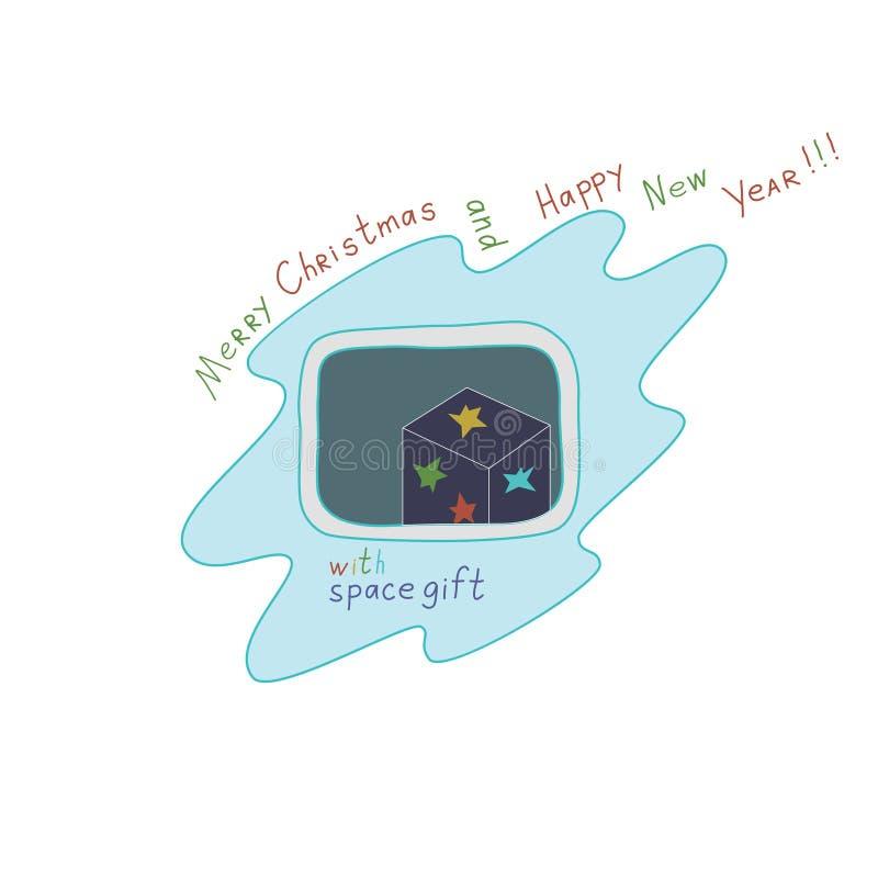 """Natale e buon anno """"Merry dal  di Star†fotografie stock"""