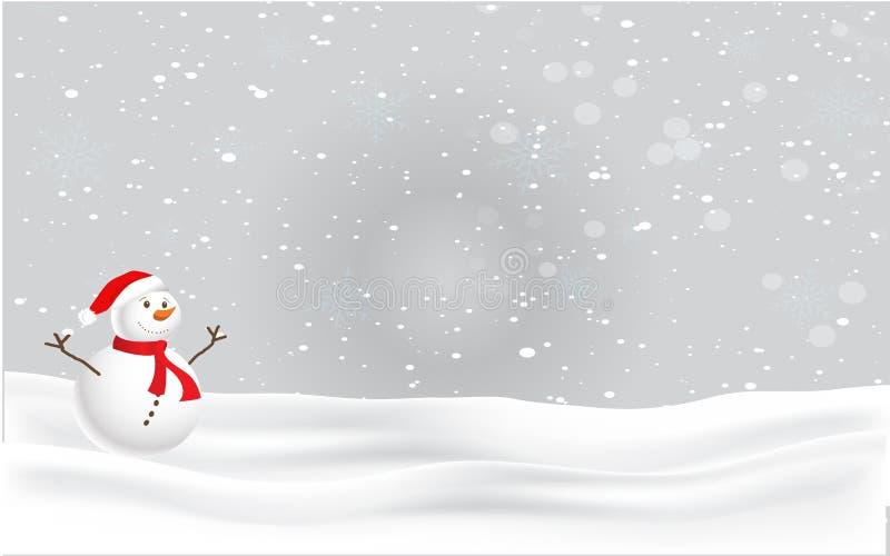 Natale e cartolina di vigilia del nuovo anno s illustrazione vettoriale
