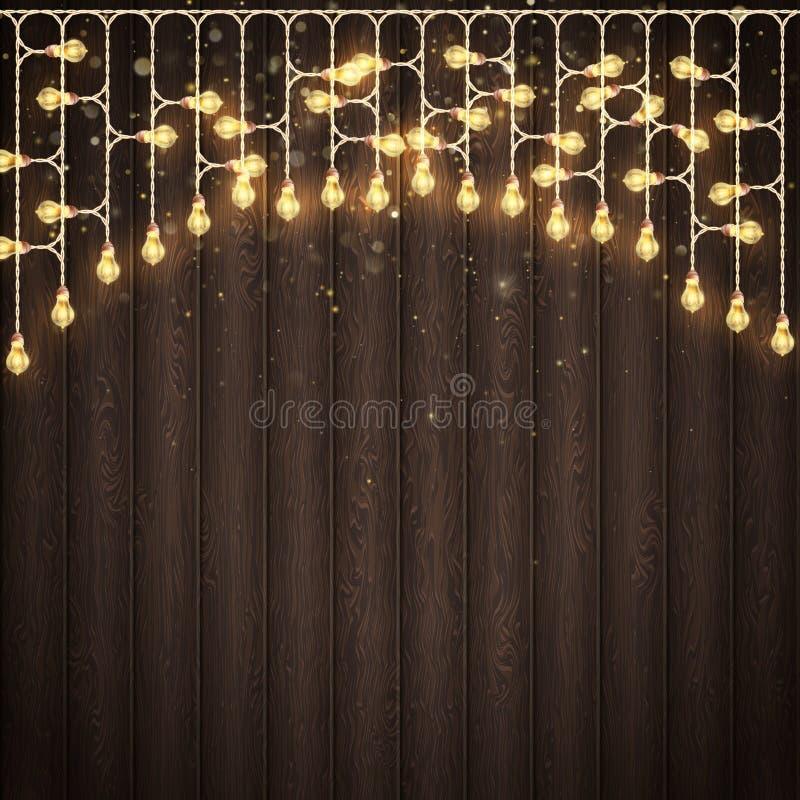 Natale e concetto delle cartoline d'auguri di festa del nuovo anno Vettore di ENV 10 royalty illustrazione gratis
