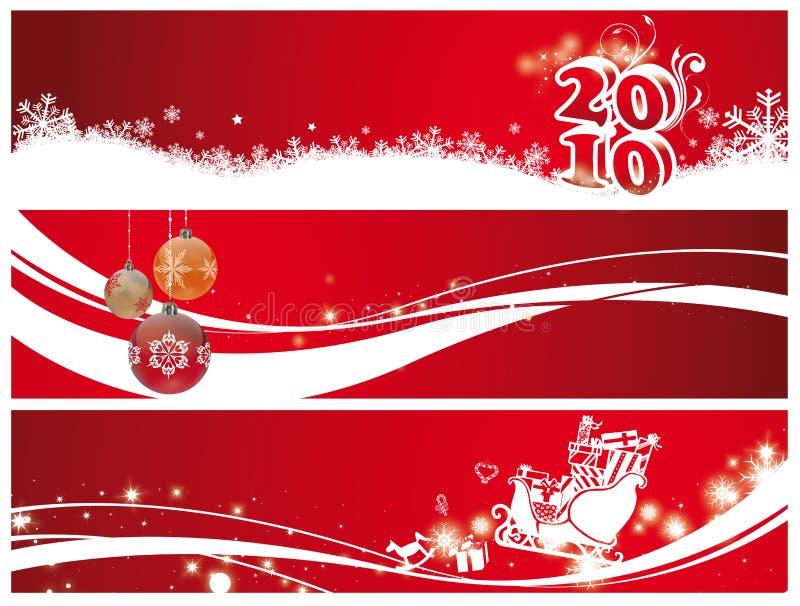 Natale e nuovo anno illustrazione vettoriale