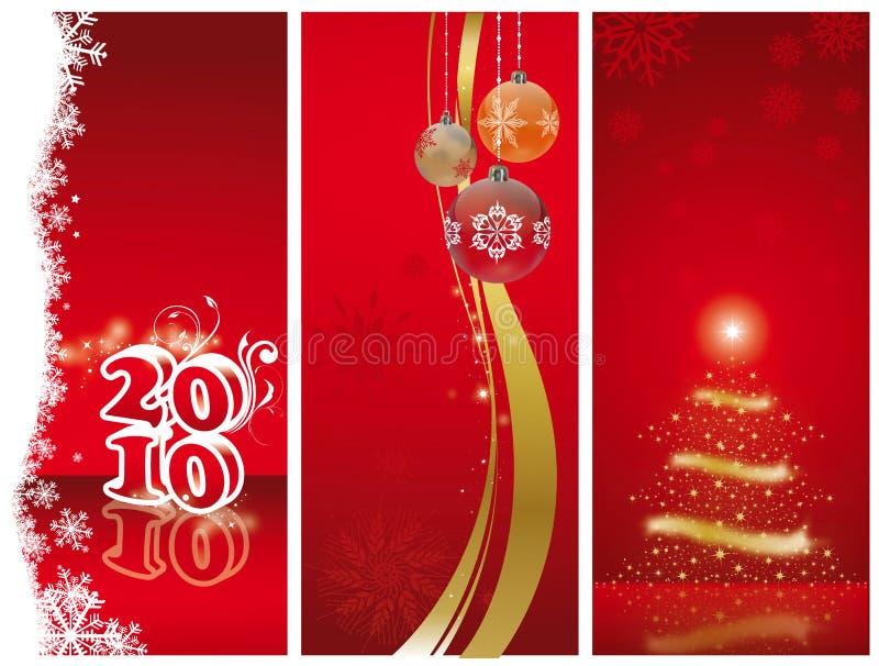 Natale e nuovo anno illustrazione di stock