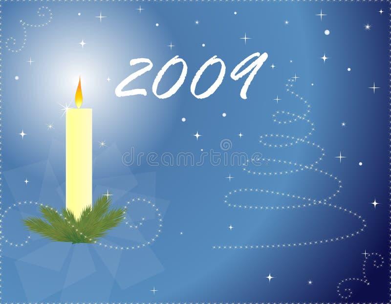 Download Natale e nuovo anno illustrazione vettoriale. Illustrazione di spazio - 7323228