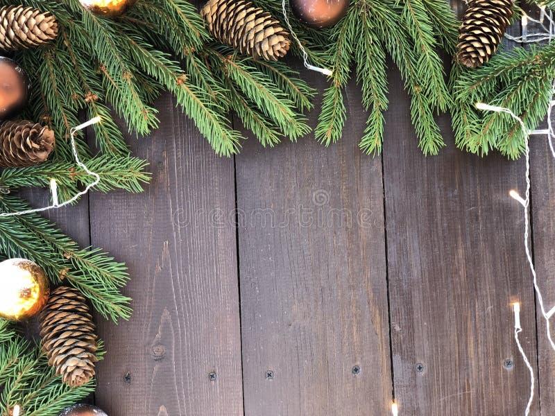 Natale e nuovo anno felice  fotografia stock