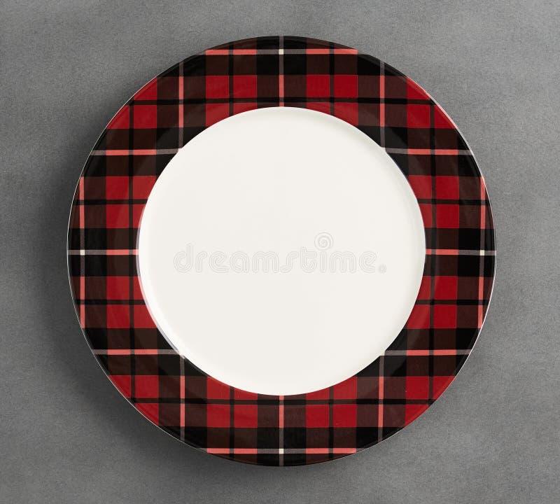 Natale: festeggiamo le torte di Dessert - Semplice raccolta di dinnerware Sketch fotografia stock libera da diritti