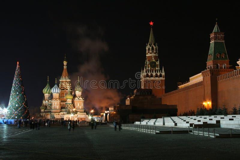Natale Kremlin fotografie stock libere da diritti
