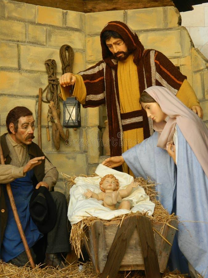 Natale natività, Jesus Birth gerusalemme fotografia stock libera da diritti