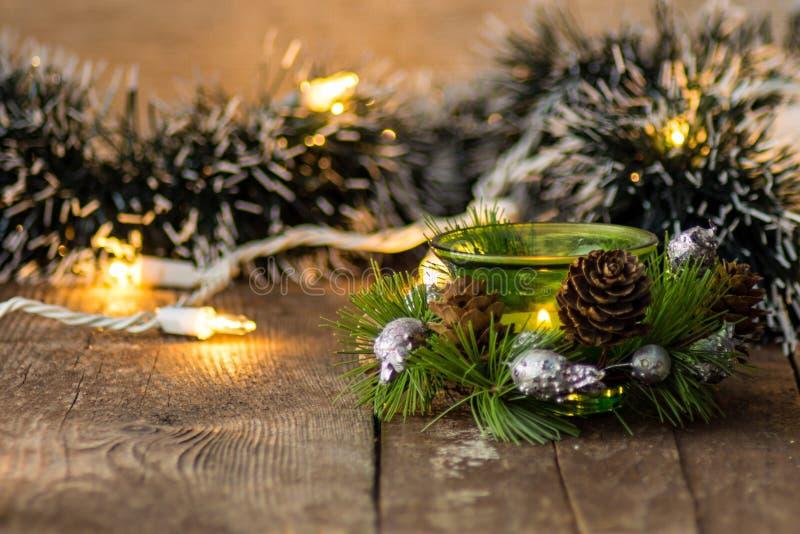 Natale, nuovo anno, festa, fondo fotografia stock
