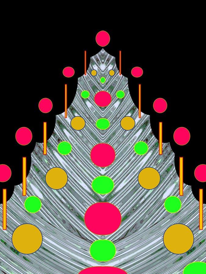 Natale o cartolina di nuovo anno immagini stock libere da diritti