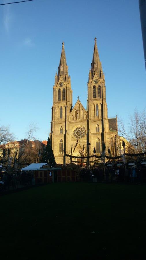 Natale a Praga fotografia stock