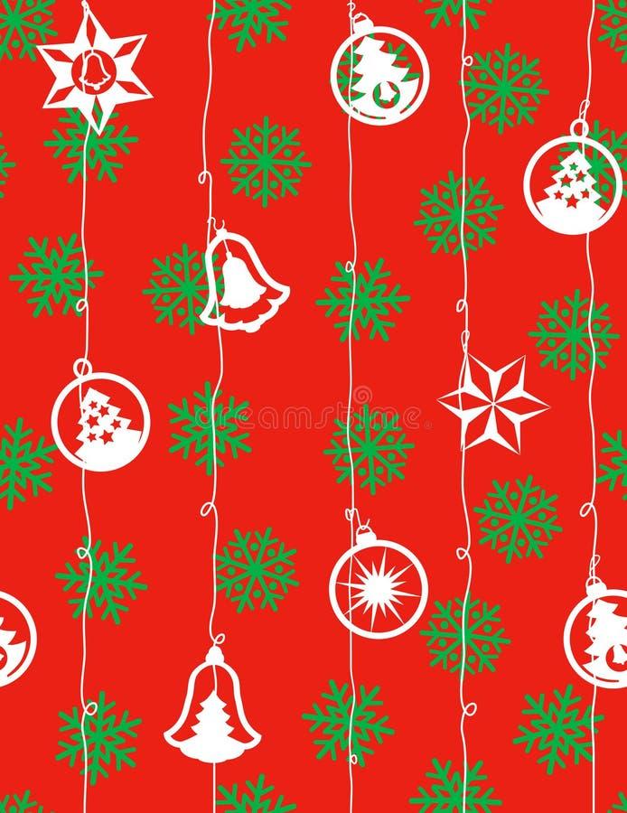 Natale - reticolo senza giunte royalty illustrazione gratis
