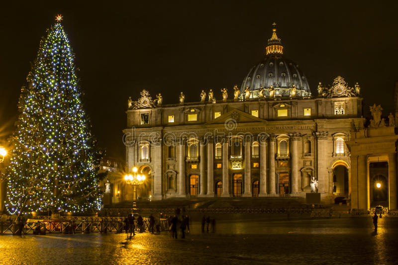 Natale a Roma fotografia stock