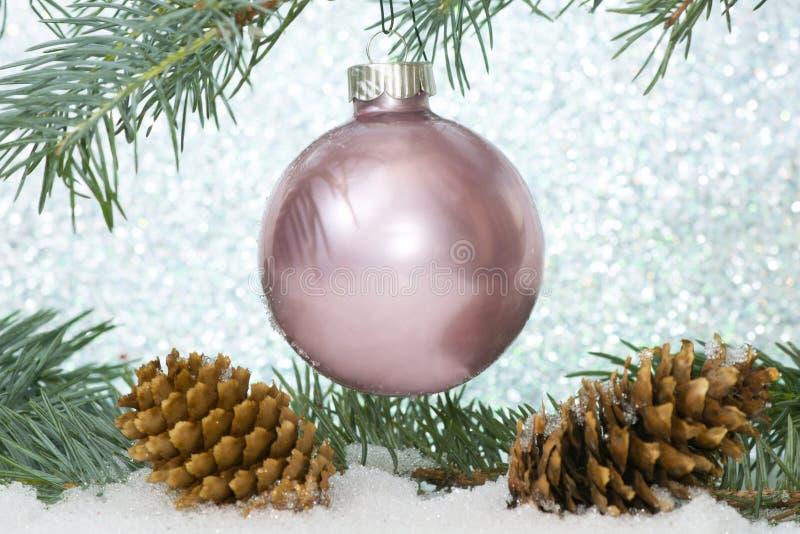 Natale rosa immagine stock libera da diritti