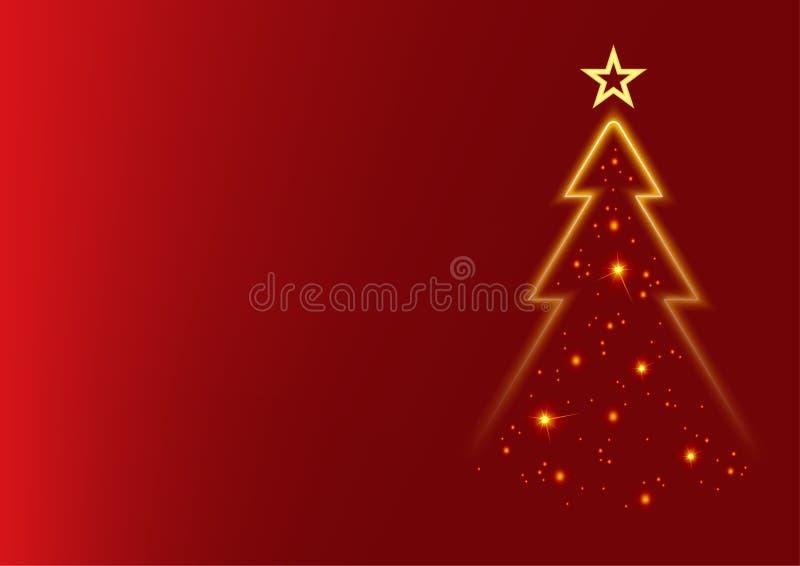 Natale rosso illustrazione di stock