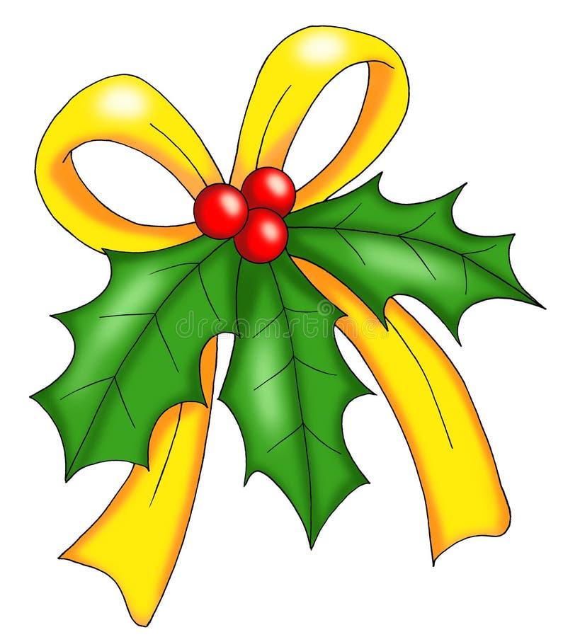 Natale vischio illustrazione di stock illustrazione di for Una decorazione e formata da cinque rombi simili