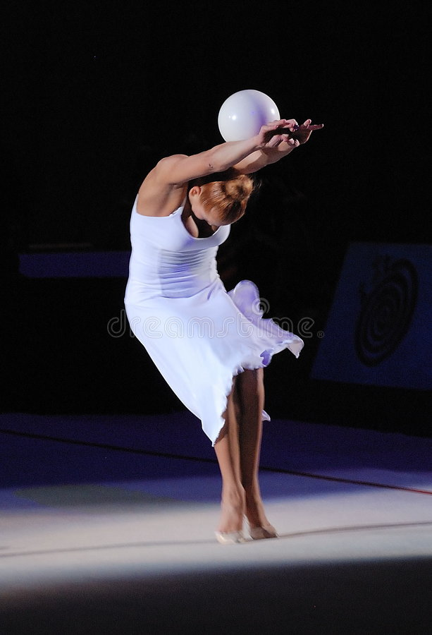 Natalia Godunko imagen de archivo libre de regalías