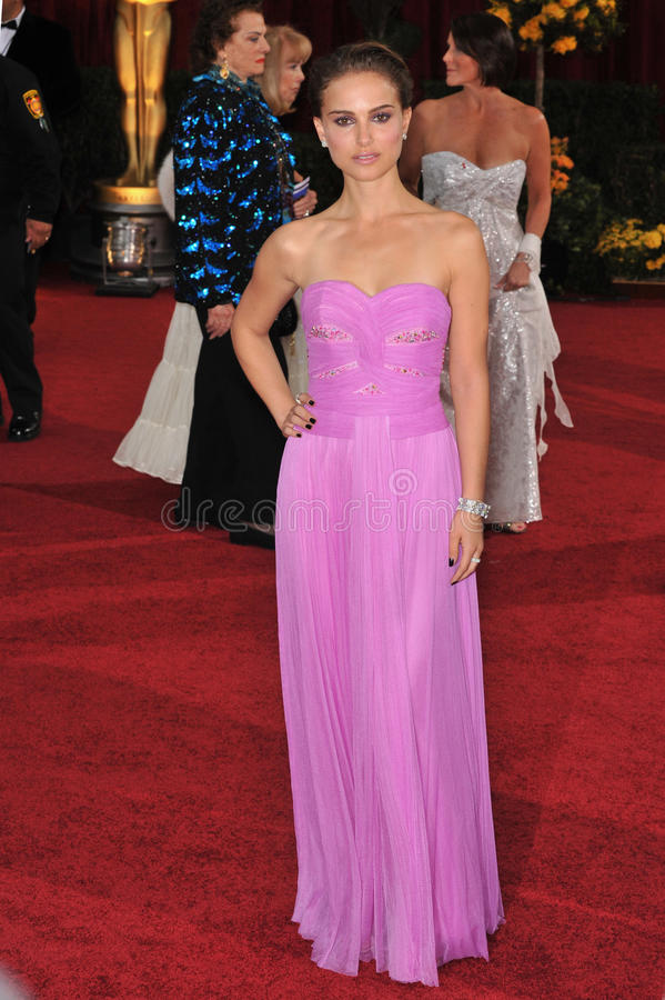 Natalie Portman imagens de stock