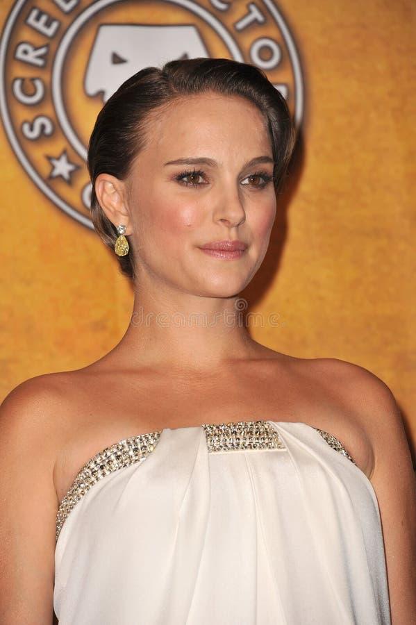 Natalie Portman, cygne noir photos stock