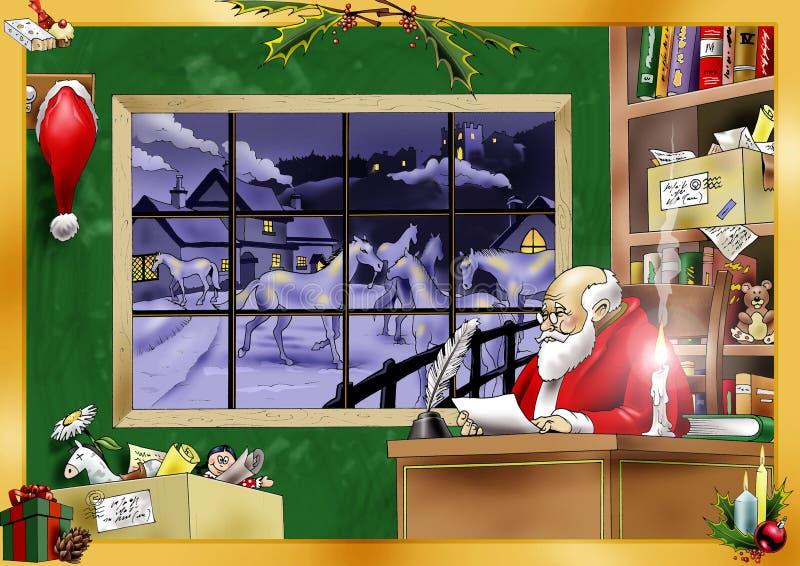natalizia royaltyfri illustrationer