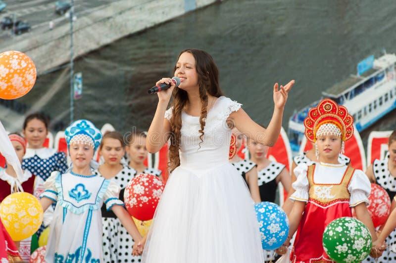 Natalya Kulikova sing stock photo