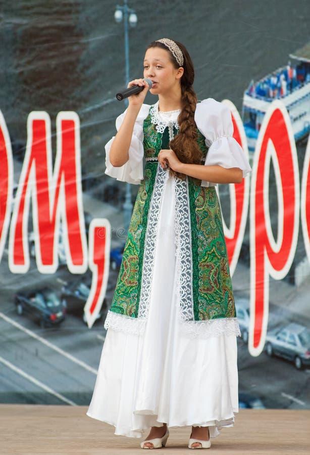 Natalya Kulikova sing stock images
